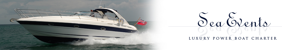Sea Events Power Boat Charter